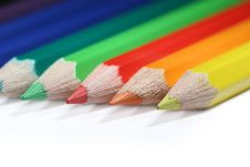 Free Some Colorful Pencils Stock Image - 2336671