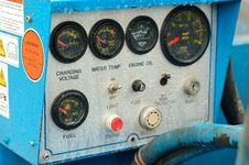 Free Machine Control Panel Stock Image - 2336741