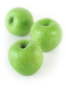 Free Some Fresh Green Apples Stock Photo - 2336780
