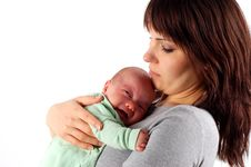Free Mother Holding Baby 11 Royalty Free Stock Photos - 2337578