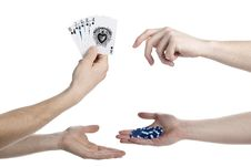 Free Poker Game Stock Photos - 2339093