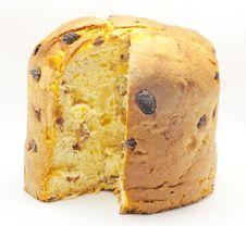 Free Sponge Cake With Raisins Royalty Free Stock Images - 23300119