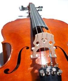Violoncello Royalty Free Stock Photography