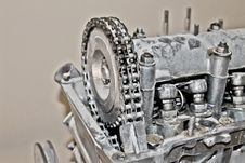 Free Old Car Engine Stock Photography - 23309162