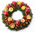 Free Christmas Wreath Stock Photography - 23310612