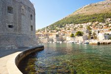 Free Wall Of Dubrovnik Town Royalty Free Stock Photo - 23310775