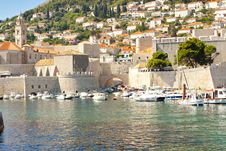 Free Exterior Of Dubrovnik Town. Royalty Free Stock Images - 23310829