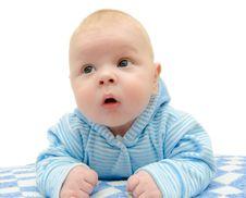 Newborn Infant Stock Image