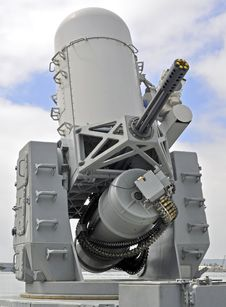 Free Naval 20mm Close-in Weapons System &x28;CWIS&x29; Stock Images - 23312954