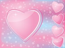 Valentine S Day Romantic Background W Stock Images