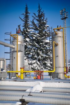 Free Oil Industry Royalty Free Stock Photos - 23314598