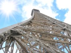 Free Top Of The Eiffel Tower Royalty Free Stock Photography - 23315017