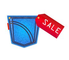 Free Jeans Pocket Stock Photo - 23315980