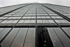 Willis Tower Reaching For The Sky Royalty Free Stock Photo