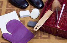 Free Shoe Care Stock Photo - 23317910