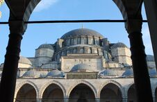 Free View Of Suleymaniye Mosque. Royalty Free Stock Photography - 23318257