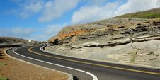 Free Scenic Drive On Mountain Road Royalty Free Stock Photos - 23318688