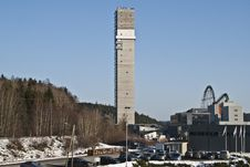Cable Tower. Royalty Free Stock Photos