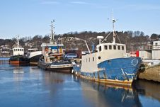 Fishing Boats And Tugs. &x28;6&x29; Stock Image