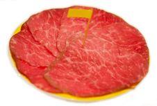 Free Slice Meat - Tritip Stock Image - 23319291