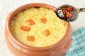 Free Dairy Millet Porridge With Pumpkin Stock Photos - 23324123