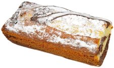 Free Vanilla And Chocolate Sponge Cake Stock Photography - 23320762