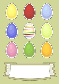Free Easter Greeting Card Royalty Free Stock Image - 23325616