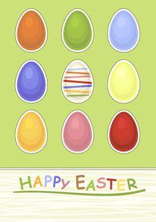 Free Easter Postcard Stock Photos - 23325633