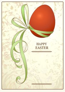 Free Easter Vintage Postcard Royalty Free Stock Photography - 23325667