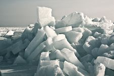 Free Ice On Beach Stock Image - 23326771