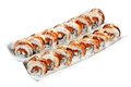 Free Sushi Rolls Philadelphia With Clipping Path Stock Photo - 23331430