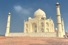 Free The Taj Mahal Mausoleum Stock Photography - 23330642
