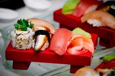 Free Sushi Stock Image - 23332071