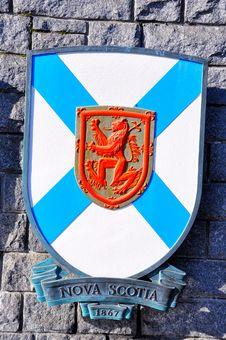 Free Nova Scotia Coat Of Arms Stock Photos - 23334183