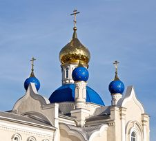 Free Russian Church. Stock Image - 23336531