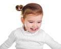 Free Portrait Of Happy Little Girl Stock Photo - 23344610