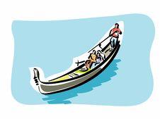 Free Venetian Gondola Royalty Free Stock Photos - 23342478