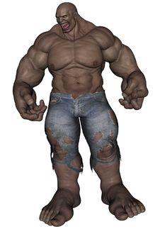 Free Monster Man Stock Image - 23342901