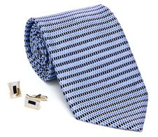 Free Man Cuff Links And Tie Royalty Free Stock Photo - 23344625
