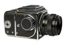 Free Old Medium Format Camera Stock Photography - 23348462