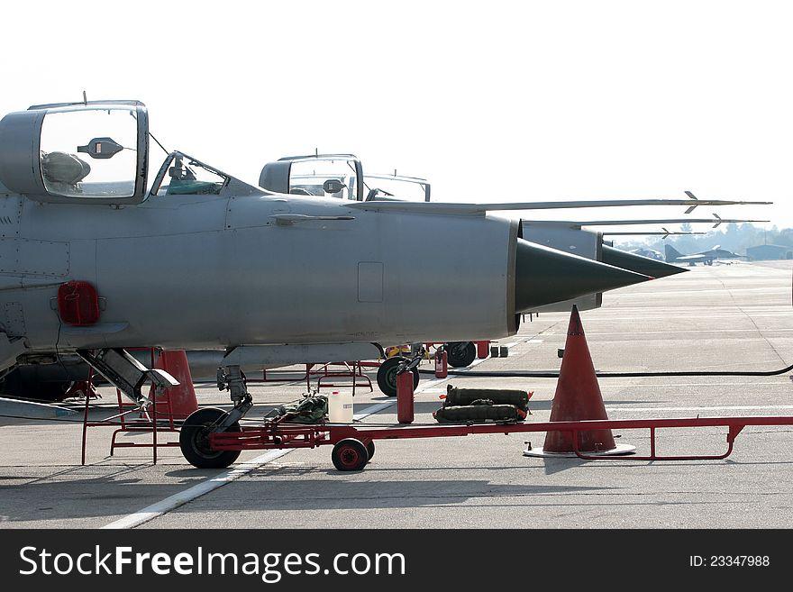 Combat plane