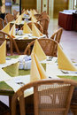 Free Tables At Summer Cafe Royalty Free Stock Photos - 23350628