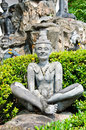 Free Statue Of Yoga. Royalty Free Stock Photo - 23353885