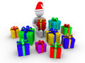 Free Person Is About To Open Presents Royalty Free Stock Photo - 23358815