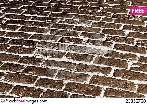 Free Cobblestone Pavement Stock Photo - 23352730