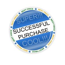 Successful Purchase Icon Stock Images