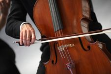Free Orchestra Of Classical Music With Violin Royalty Free Stock Image - 23352276
