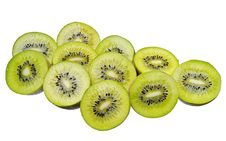 Free Kiwi Slices Royalty Free Stock Photography - 23354677