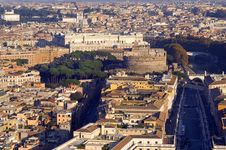 Free View From The Castle Sant Angelo Stock Photography - 23357672