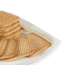 Free Crispy Wheat Biscuits Stock Photo - 23359230